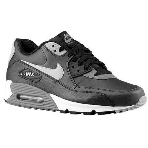 Nike Air Max 90 Essential - Men's - Running - Shoes - Black/Dark Grey/Black/Silver
