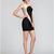 Fashion color matching Mini Bandage Dress for gilr