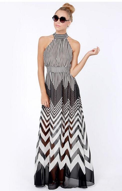 ZigZag Maxi Dress / klassythreadz