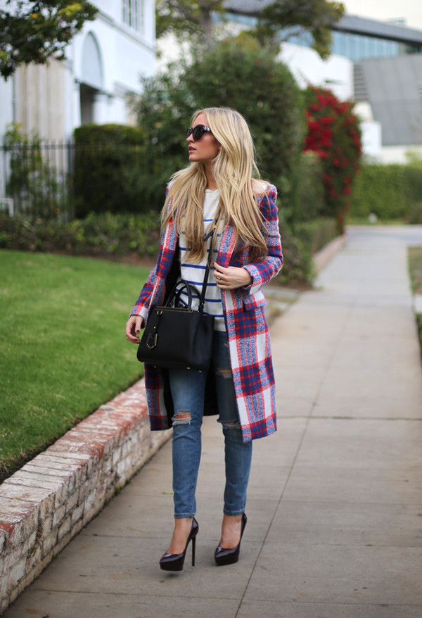 angel food sweater coat jeans shoes bag sunglasses