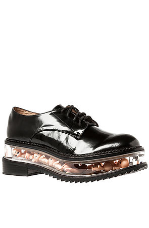 Jeffrey Campbell The Jagger Shoe in Black Leather and Baby Dolls : Karmaloop.com - Global Concrete Culture