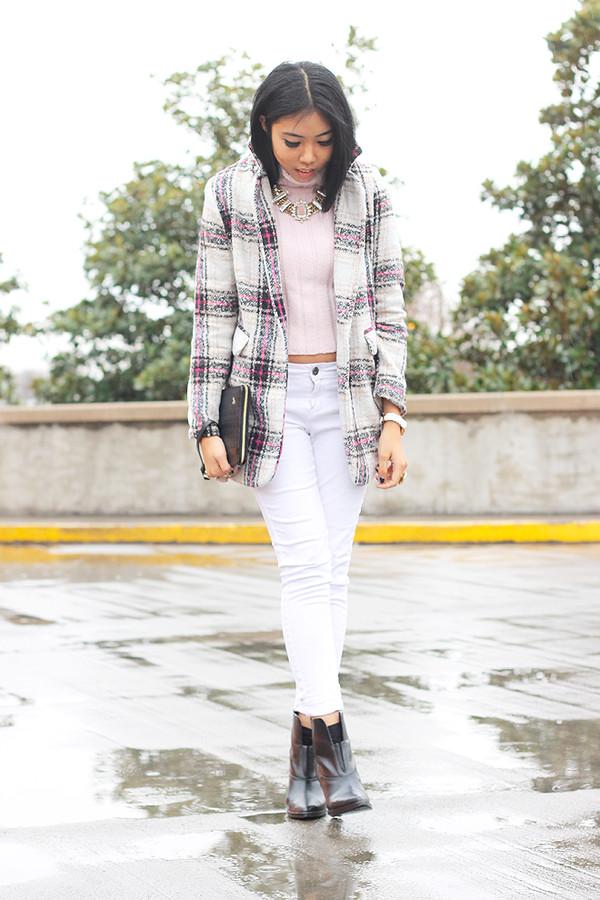 fashion of a novice t-shirt sweater pants coat jewels bag