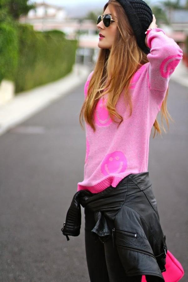 marilyn's closet blog sweater pants bag shoes jacket hat jewels