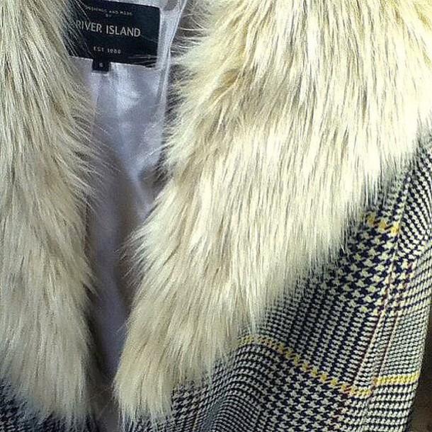 coat fur coat oversized