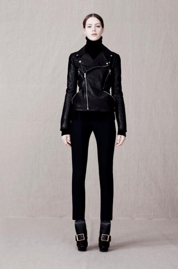 jacket fashion lookbook alexander mcqueen