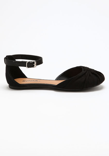 Ankle Strap Flats - Love Culture