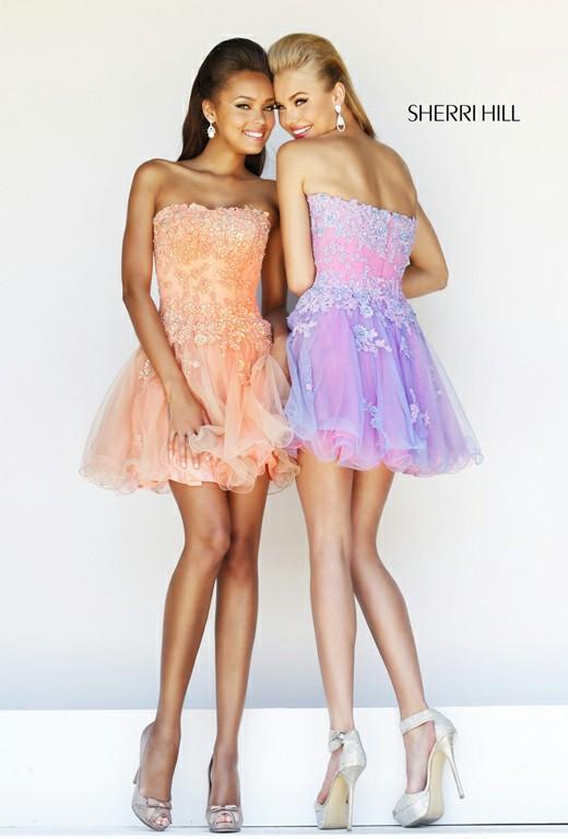 Strapless Embellished Short Cocktail Dress Cute [Embellished Short Dress 11062] - $146.00 : Discover Unique Dresses Online at PromUnique.com