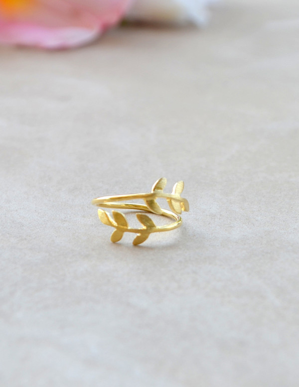 jewels gold leaf ring leaves gold ring gold ring gold ring leaf ring