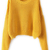 ROMWE | ROMWE Short Length Loose Style Ginger Jumper, The Latest Street Fashion