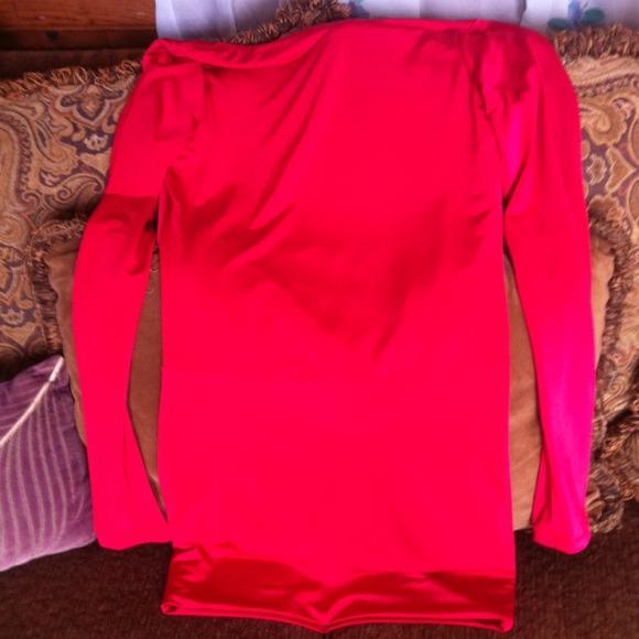 hot Miami  - Red sexy back drape dress from Hairxtensions's closet on Poshmark