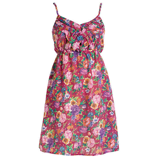Braided Floral Dress - Polyvore
