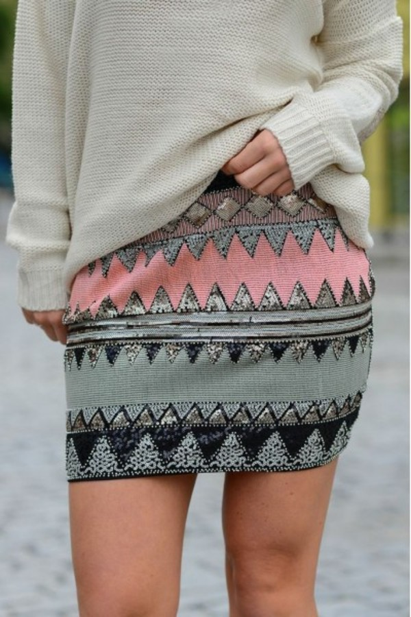 skirt sequins fashion style lookbook look of the day instagram instastyle ootd wiwt