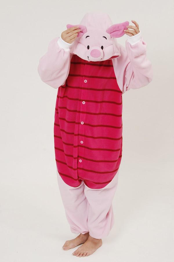 piglet kigurumi onesies animal onesies underwear