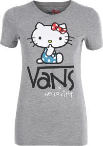 Vans Quiet Hello Kitty W T-shirt grey heather