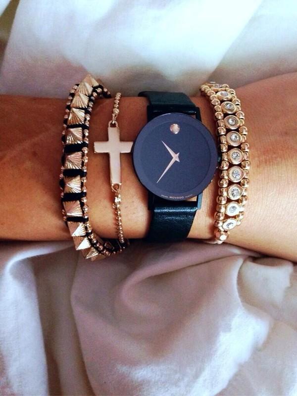 jewels watch bracelets cross
