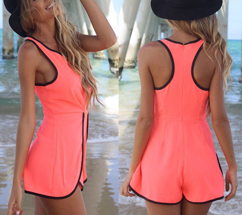 Sexy Women Summer Fashion Celeb Playsuit Evening Party Mini Dress Jumpsuit Short | eBay