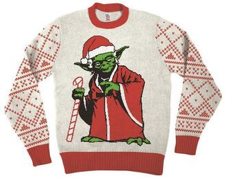 sweater ugly christmas sweater christmas christmas sweater star wars yoda