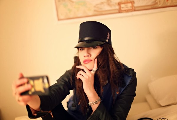 natalie off duty hat jacket jewels