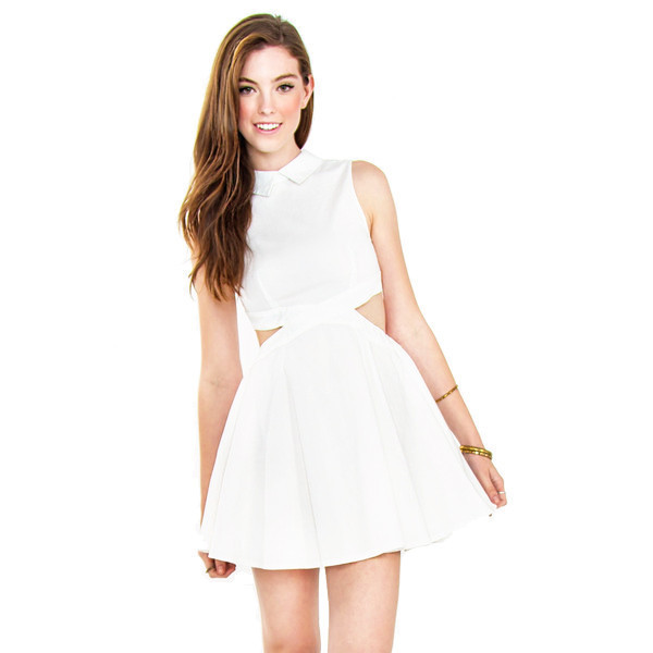 dress back to school days white mini party funny makeup table vanity row dress to kill bow tie