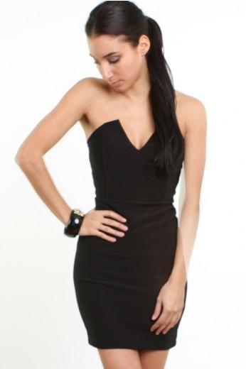 Magic of Angles Dress-  LBD Dresses- Black Dresses- $39.99