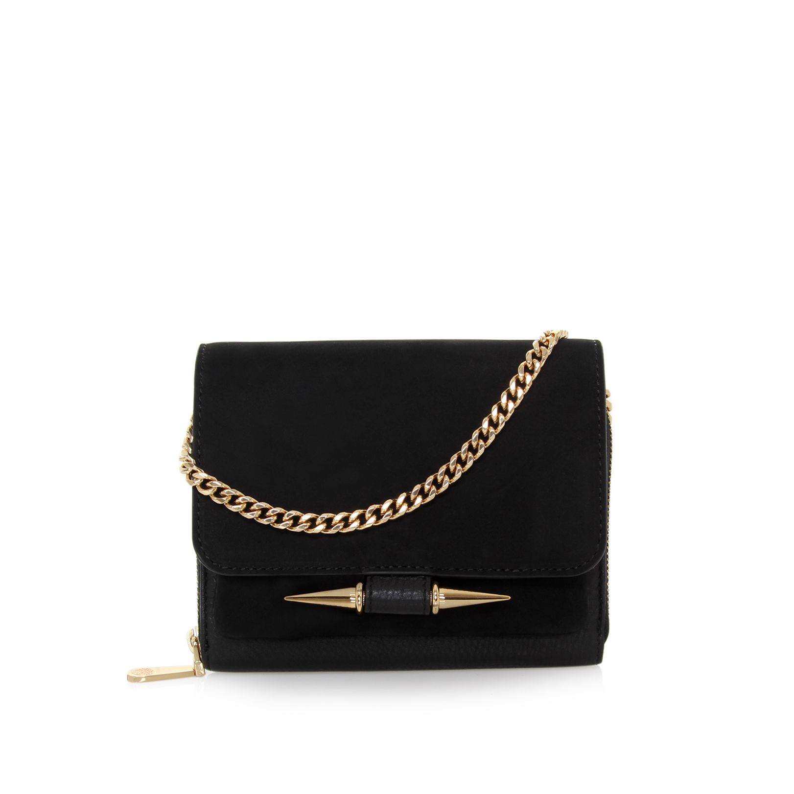 Vince Camuto Gia black crossbody bag - House of Fraser