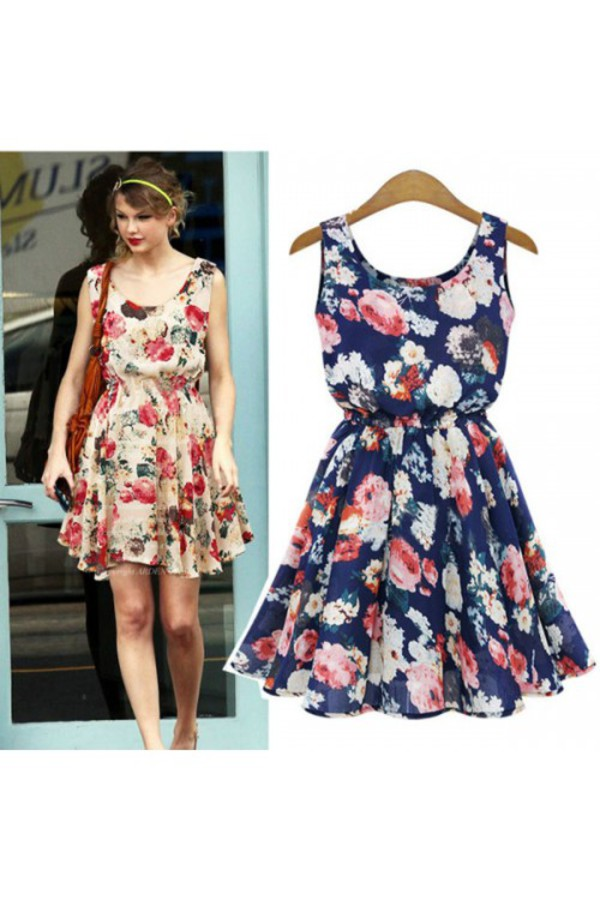 kcloth floral printed summer dress floral dress summer dres floral swimwear summer outfits
