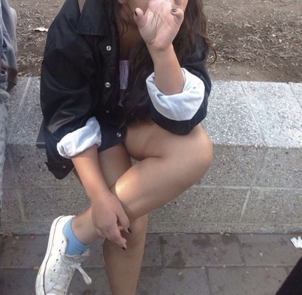 jacket black and white grunge girl black and white black and white