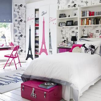 jewels paris home decor cute pink white paris room eiffel tower