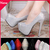 Women Pumps  Large Size 33 41 White Silver Blue Black 8 Colors Sexy Prom Rhinestone Red Bottom High Heels Women's Wedding Shoes-inPumps from Shoes on Aliexpress.com