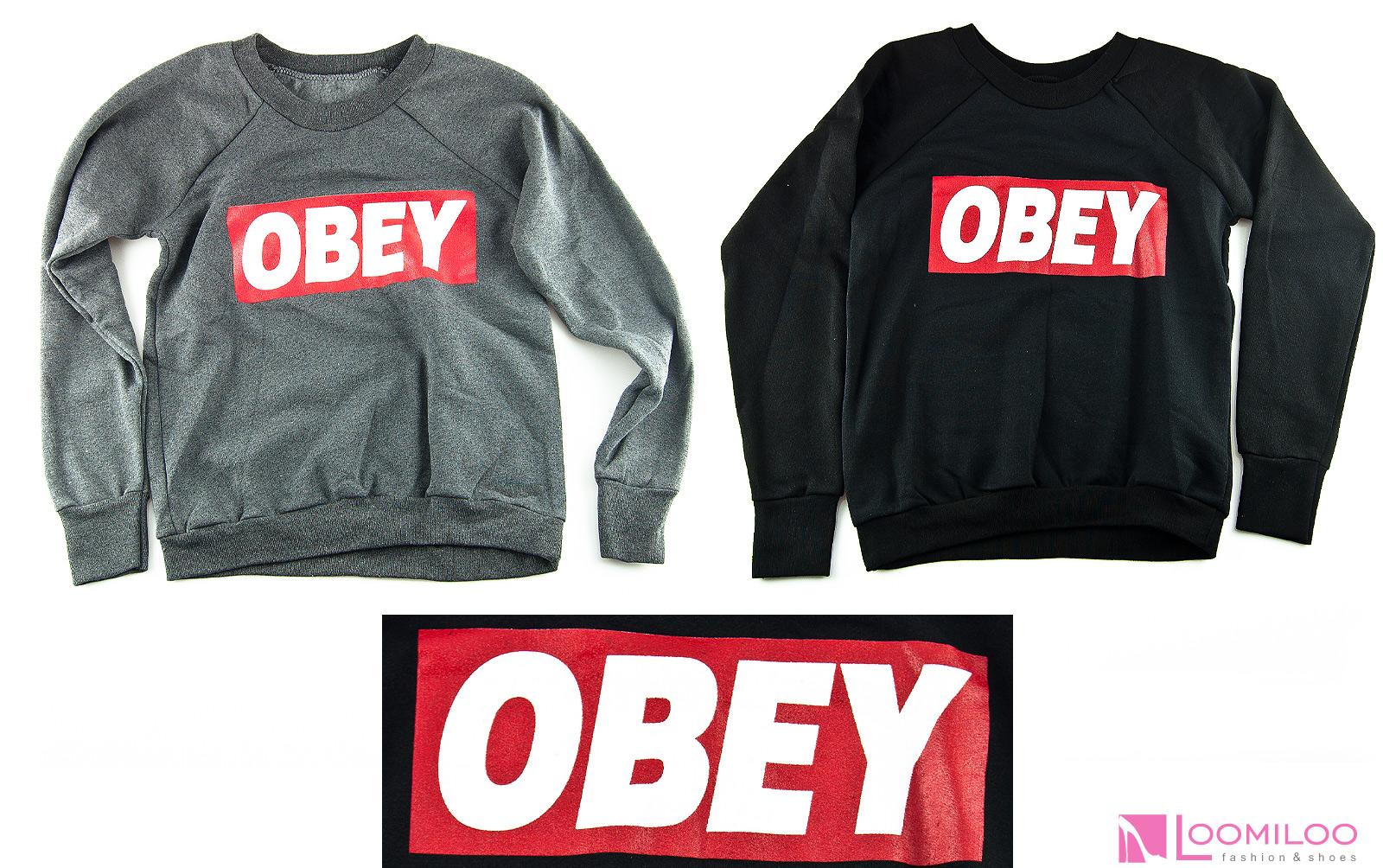OBEY Sweater Sweatshirt Pulli Pullover Damen Kanye Yolo Hipster Swag | eBay