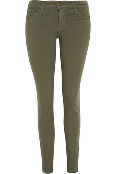 Current/Elliott The Ankle mid-rise skinny jeans - 55% Off Now at THE OUTNET
