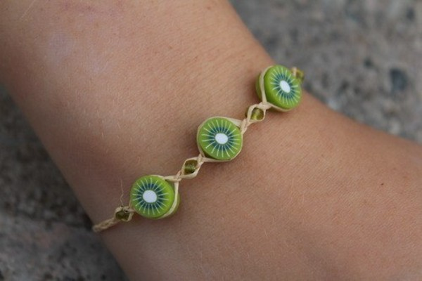 jewels bracelets cute kiwi