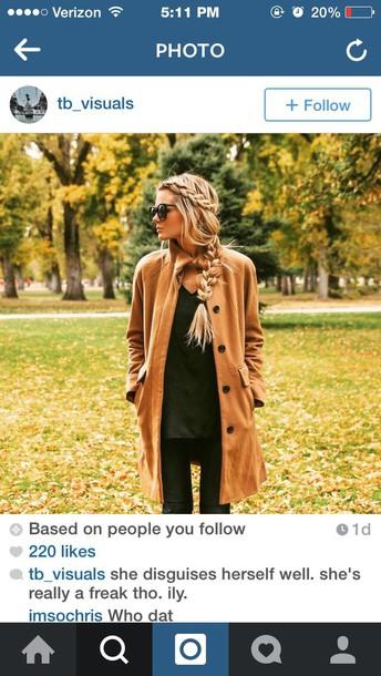 coat wool beige jacket