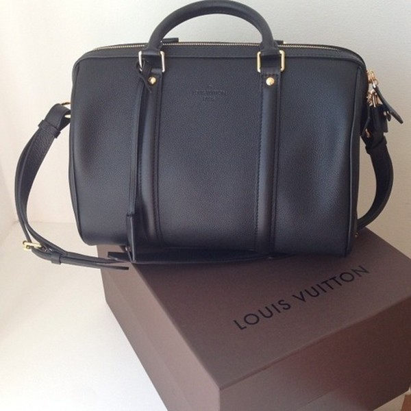 bag louis vuitton black bag hipster