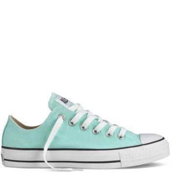 Converse - Chuck Taylor Fresh Colors - Low - Jungle Green on Wanelo