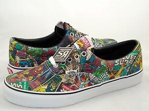New Men's Vans Era Avengers Shoes Marvel Skate Iron Man Thor Spider Hulk Comics | eBay