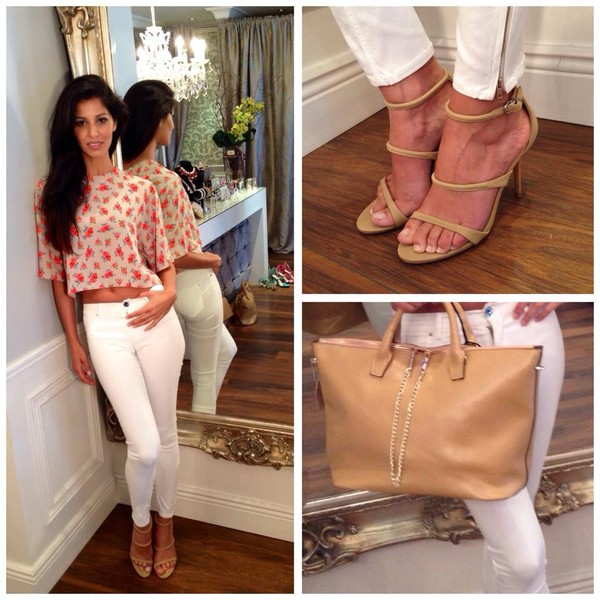 shoes bag blouse