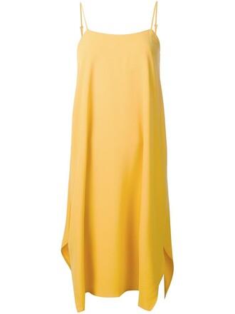 dress yellow orange