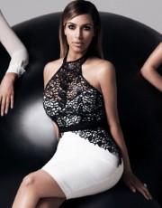 Kardashian Halter Pencil Dress - Lipsy