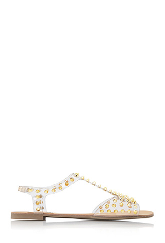 Heavy Metal Sandals | FOREVER 21 - 2000127447