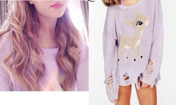 sweater ariana grande