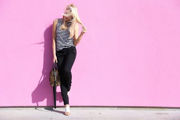 cheyenne meets chanel pants shirt shoes jewels bag