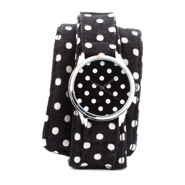 jewels ziz watch watch watch ziziztime polka dots black n white