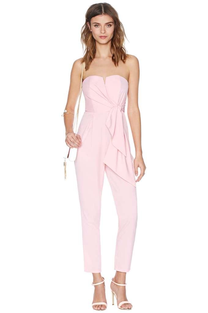 Sasha Jumpsuit - Pink | Shop Rompers   Jumpsuits at Nasty Gal