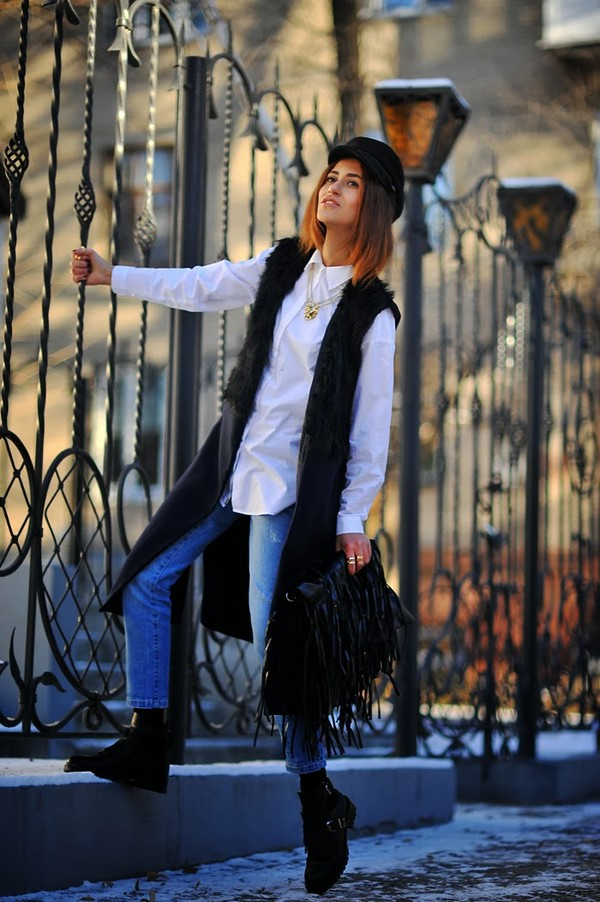 tina sizonova coat jacket shirt bag shoes jewels