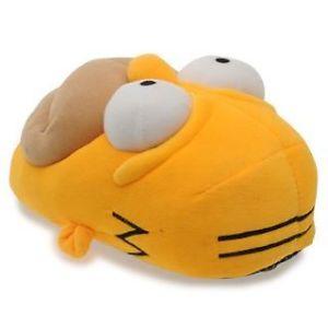 Mens Winter Warm Homer Simpson Slippers Size UK 7 8 9 10 11 12 Great Xmas Gift | eBay