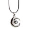 Memento mori black pearl choker / necklace
