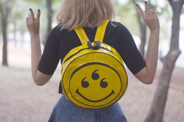 bag alternative illuminati plastic grunge pastel pastel grunge pastel goth yellow