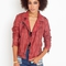 Mallow leather moto jacket in  clothes outerwear moto at nasty gal
