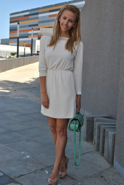 dress nude dress nude cream dress cream short dress